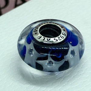 Pandora Jewelry - PANDORA Starry Sky Glass Murano Bead, New!